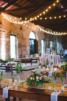 weding receptions - photo by Izzy Hudgins Photography http://ruffledblog.com/bohemian-georgia-state-railroad-museum-wedding