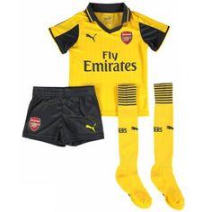 Camisetas del Arsenal para Niños Away 2016 2017