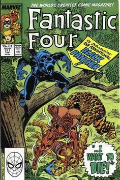 Fantastic Four #311 - I Want To Die!