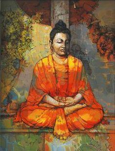 lord buddha golden statue with golden background hd wallpaper gautam