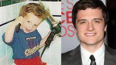 Josh Hutcherson-----Josh kept his hair beautiful even as a little tyke! Precious!