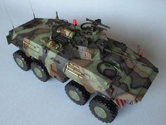 Von Vikken - modellismo statico: Spähpanzer 2 Luchs - Base painting and detailing #VonVikkenModellismo