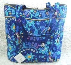 Nwt Vera Bradley Vera Tote XL Toggle Bag Extra Large Disney Dreaming #verabradley #OrganizerBag