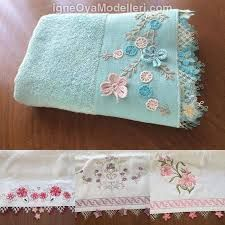 2018 Different Towel Edge Models - Women's Fashions Soft Towels, Crochet Potholder Patterns, Crochet Borders, Crochet Towel, Crochet Baby, Ribbon Embroidery, Embroidery Designs, Decorative Towels, Christmas Decorating Ideas
