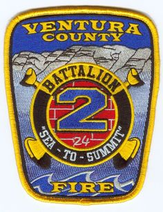 Ventura County, CA Battalion 2 Patch