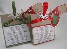 Christmas M&M Treats by Lynn in St. Louis - Cards and Paper Crafts at Splitcoaststampers