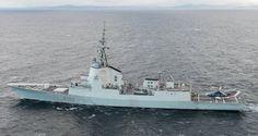 Los buques de la Armada española en un macro ejercicio de la OTAN en el Mar del Norte -noticia defensa.com