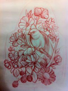 drawings and sketches Backpiece Tattoo, 1 Tattoo, Cover Tattoo, Tattoo Sketches, Tattoo Drawings, Tattoo Studio, Tattoo Apprenticeship, Bild Tattoos, Tattoo Project