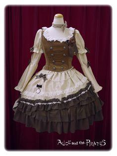 Alice and the pirates ~ Milky Rail Train Nella dress set
