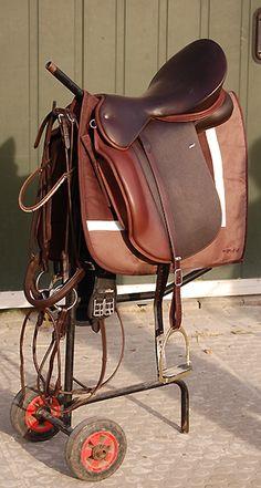 Handmade WOW saddle