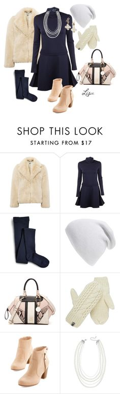 """""""Fuzzy Wuzzy Warm"""" by coolmommy44 ❤ liked on Polyvore featuring Whistles, Vanessa Bruno Athé, Sperry, Phase 3, GUESS, The North Face, Lane Bryant and Ashley Pittman"""