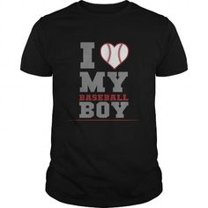 I Love My Baseball Boy Great Gift For Any Mom Dad Mother Father T Shirts, Hoodies. Get it now ==► https://www.sunfrog.com/Sports/I-Love-My-Baseball-Boy-Great-Gift-For-Any-Mom-Dad-Mother-Father-Black-Guys.html?57074 $19