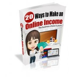 20 Ways To Make An Online Income -   Discover 20 Cool Ways To Make An Online Income!