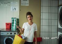 ◆ Savon WHITE - サボン・ホワイト // 歌うことと、踊ることが大好き。そして、多くのパリジャンと同じく、何よりも香りを愛する彼女が一番落ち着ける場所は、部屋いっぱいにサボン(=石鹸)の香りが広がるランドリー。洗いざらしの白、サボン・ホワイト。 #lejun #tokyo #paris #europeancomfort #parisiancolor #savonwhite #ルジュン #パリジャンカラー #サボンホワイト