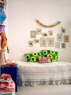 from Homespun Style by Selina Lake--girls room