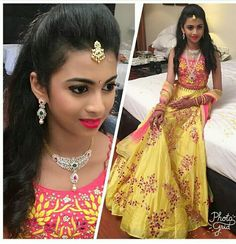 South Indian Bride, Indian Bridal, Princes Dress, Kids Lehenga, Crop Dress, Diamond Jewelry, Diamond Choker, Gold Choker, Diamond Pendant