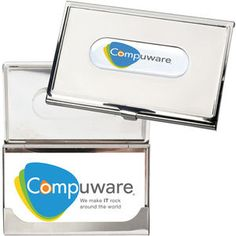 Photovision business card holder, is a polished stainless steel gift, perfect for co-workers and clients. #sales #Marketing #Branding #PomotionalProducts  http://www.promotion-specialists.com