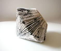 Manga Diamond Book Sculpture