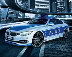 BMW 428i Coupe Polizei Tuned Police Car | By AC Schnitzer