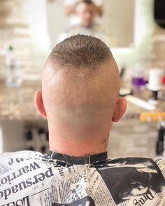 Short Buzz Cut, Short Hair Cuts, Short Hair Styles, Buzz Cuts, Shaved Head Styles, Flat Top Haircut, High And Tight, Bald Fade, Plait