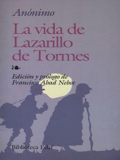 """""""Pues sepa Vuestra Merced, ante todas cosas, que a mí llaman Lázaro de Tormes, hijo de Tomé González y de Antona Pérez, naturales de Tejares, aldea de Salamanza. Mi nascimiento fue dentro del río Tormes, por la cual causa tomé el sobrenombre."""" La Vida De Lazarillo De Tormes en 24symbols http://www.24symbols.com/book/espanol/anonimo/la-vida-de-lazarillo-de-tormes?id=4955"""