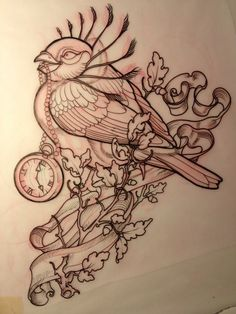 #tattoo #bird #birdtattoo