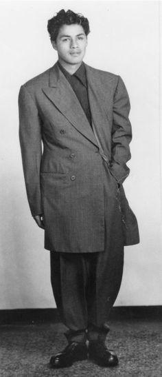 Original Zoot Suit | Photo Friends LAPL Blog: A Sin and A Shame