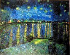 Vincent Van Gogh  Cielo stellato sul Rodano