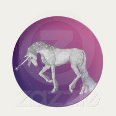 Unicorn Sparkles Plate