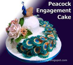 Seenfully Sedap: Peacock Cake