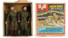 GI Joe - Green Beret Machine Gun Outpost