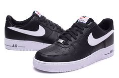 a9edcacd94be9b Nike Air Force 1 Low Men s Shoes Black White Nike Air Force Black