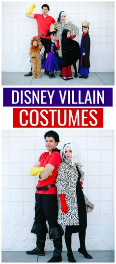 Our Disney Villains Family Costumes