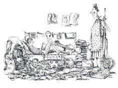 Kamaszkor problémái - Szűcs Édua rajza Marvel