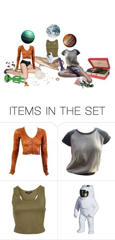 """""""extraterrestrials"""" by velvetufo ❤ liked on Polyvore featuring art, squad, sleepover and planets"""