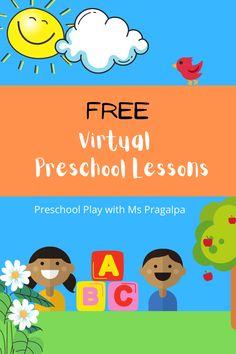 Free Virtual Preschool Circle Time