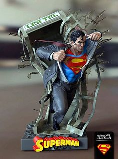 Miniaturas e Colecionismo - Superman