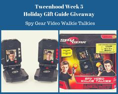 Spy Gear Video Walkie Talkies make a great gift for boys and girls with a sense of adventure. communication without data or wifi equals hours of fun. Holiday Gift Guide, Holiday Gifts, Spy Gear, Durham Region, Promote Your Business, Top Gifts, Classic Toys, Business Website, Walkie Talkie