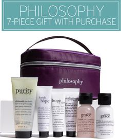 Philosophy 7-Piece Gift with Purchase | Nordstrom