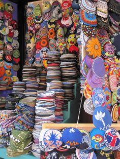 Kippah Store - Ben Yehuda Street, Jerusalem.