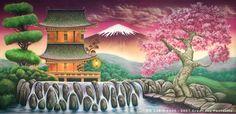 OR 023 Oriental Landscape 1