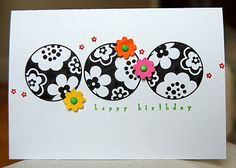 Stampin' Up ideas and supplies from Vicky at Crafting Clare's Paper Moments: FTL 102 using Circle Circus and Tiny Tags