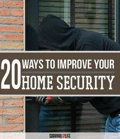20 Home Security and Crime Prevention Secrets | Preparedness Tips & Ideas by Survival Life at http://survivallife.com/2015/10/28/home-security-crime-prevention/
