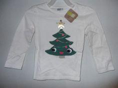 Crazy 8 brand little girls Christmas shirt size 3t NWT