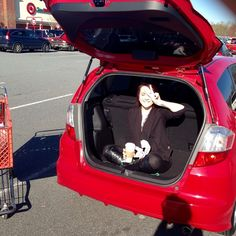 """If I ""Fit"" I sit. #hondafit #newcar #obsessed."" Photo taken by @mbaker0810 on Instagram, pinned via the InstaPin iOS App! http://www.instapinapp.com (03/29/2015)"