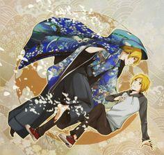 Natsume Yuujinchou ~~ Double Natsume! by pianopear12.deviantart.com on @deviantART