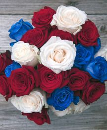 Red, White and Bouq Flowers are Back for the 4th of July with Free Shipping #BouqLove