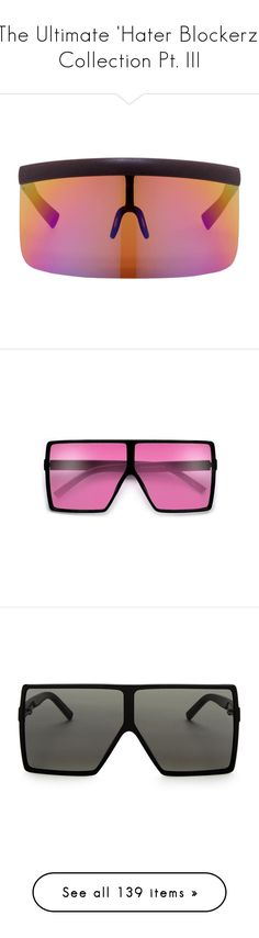 """""""The Ultimate 'Hater Blockerz' Collection Pt. III"""" by dazzlingdondiva ❤ liked on Polyvore featuring men's fashion, men's accessories, men's eyewear, men's sunglasses, brown, mens brown sunglasses, accessories, eyewear, sunglasses and wayfarer sunglasses"""