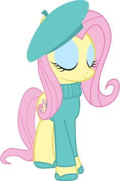 ♡ On Pinterest @ kitkatlovekesha ♡ ♡ Pin: TV Show ~ My Little Pony: Friendship is Magic ~ French Fluttershy ♡