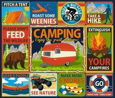 camping crests - retrorudolphs